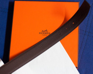 Hermes-Gürtel-Braun