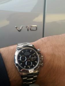 Rolex-Daytona-Cosmograph-Audi-R8-V10-5.2L