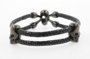 Totenkopf-Rochen-Armband