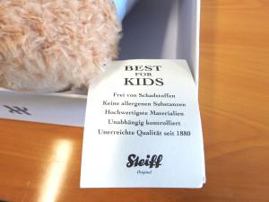 Hublot-Steiff-Teddybär-Fynn-Schadstofffrei