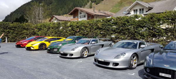 The Supercar Owners Circle Treff im Hotel The Chedi in Andermatt