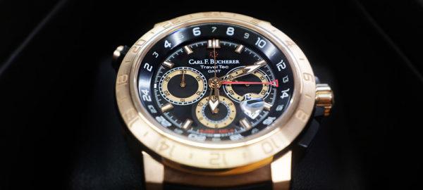 Patravi Traveltec II. – Carl F. Bucherers Uhr mit 3 Zeitzonen