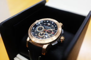 Carl-F-Bucherer-TravelTec-2-GMT-RoseGold-Zifferblatt