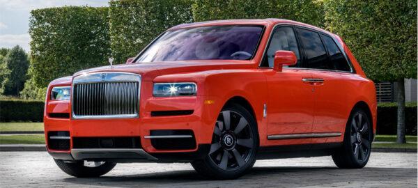 Rolls Royce Cullinan – ein SUV der Luxus-Klasse